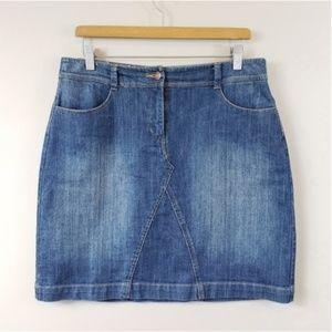 Boden | Denim Skirt